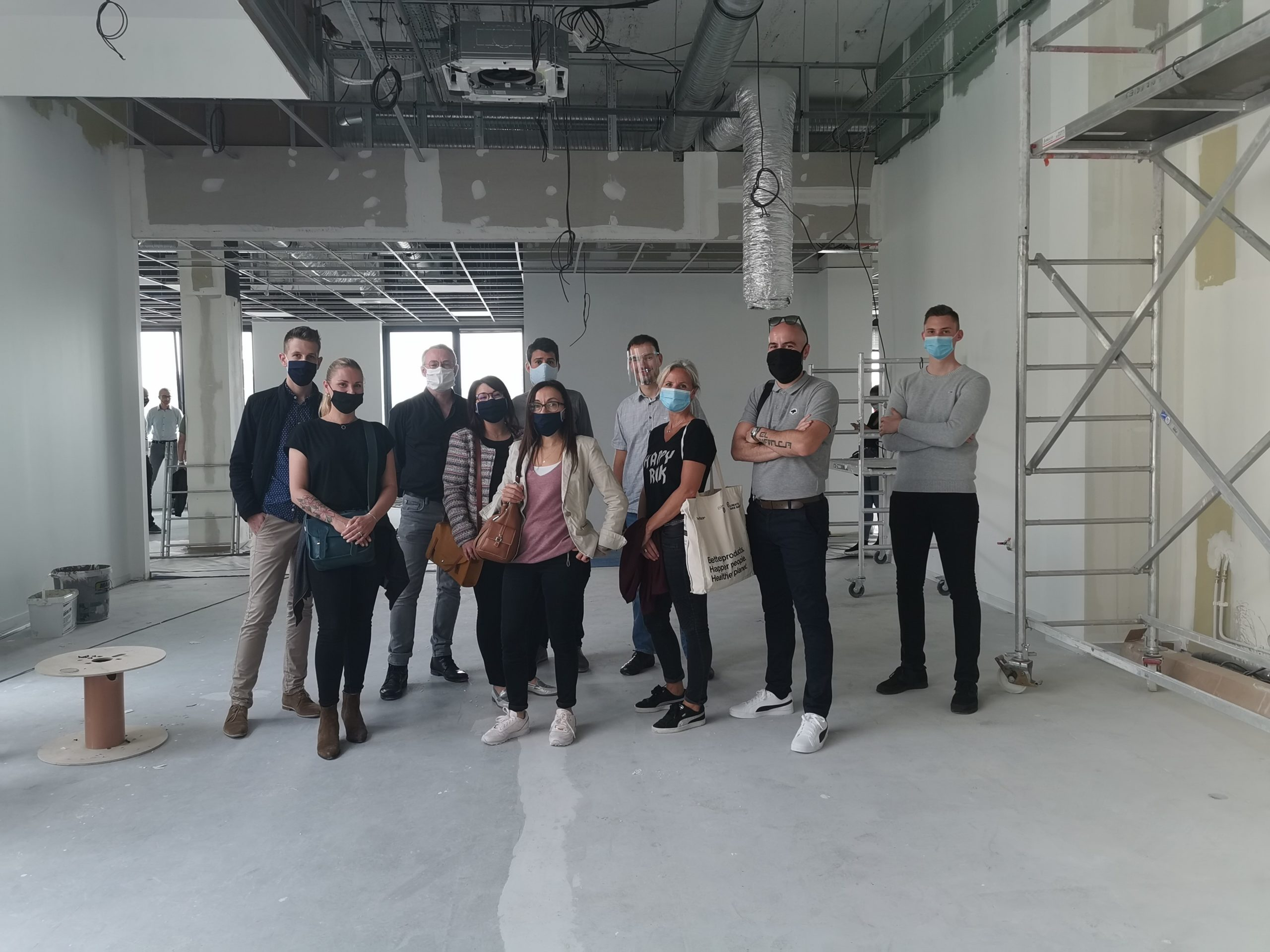 Visite de chantiers